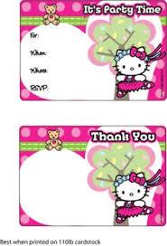 Hello Kitty Invitation Printable 201 Best Hello Kitty Birthday Printables Images Hello Kitty