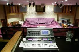 sound system for church. church sound system installation for