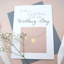 To My Groom Wedding Day Card