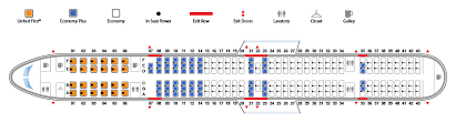 boeing 757 300 united airlines seating