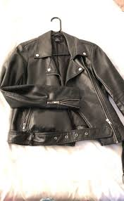 women s vegan leather motorcycle jacket clothing shoes in washington dc offerup