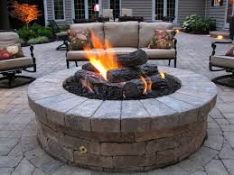 gas fire pits for outside