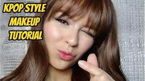kpop style makeup tutorial you