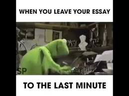 when you leave your essay when you leave your essay