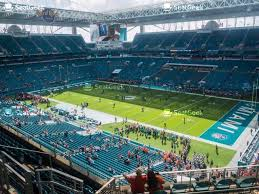 Miami Dolphins Hard Rock Stadium Seating Chart Your Ticket To Sports Concerts More Seatgeek
