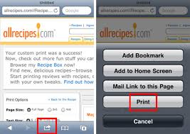 Where Is Airprint On My Iphone The Iphone Faq