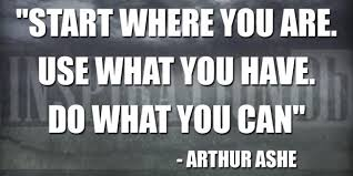 Arthur Ashe Quotes Classy Arthur Ashe Quote Poster InspirationDb