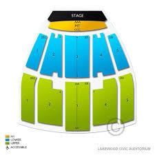 Civic Auditorium Seating Chart Lakewood Civic Auditorium 2019 Seating Chart