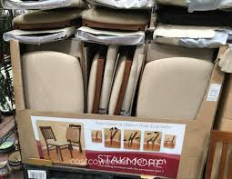 wood folding chairs costco best chair for you inside stakmore folding chairs costco