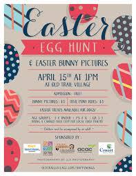 Old Trail Easter Egg Hunt