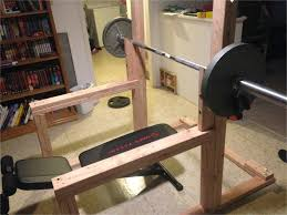 homemade wooden squat rack diy squat rack zuhause inspiration design