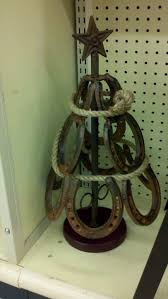 Horseshoe Christmas Tree.