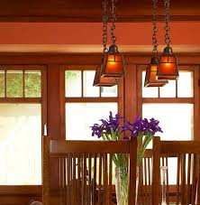 Arts And Crafts Kitchen Lighting Lighting To Accent And Define Arts Crafts Homes And The Revival