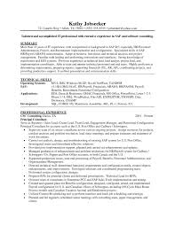 Sample Sap Resume Best Of Ideas Sap Support Project Manager Resume