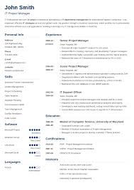 Excellent Resume Template 15 Blank Resume Templates Forms To Fill In And Download