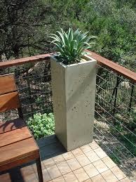 drop dead gorgeous accessories for garden decoration using concrete plant pots engaging image of garden