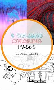 If so, you need to take benefit of the. 4 Volcano Coloring Pages Coworksheets