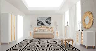 Modern Luxury Bedrooms Bedroom Dresser 4 Drawer Chest Mirage