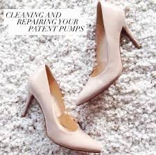 cleaning repairing your patent leather pumps