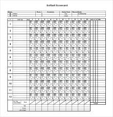 Softball Lineup Template And Softball Roster Template Softball ...