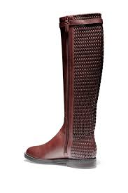 Cole Haan Abi Textured Shaft Riding Boot - Lyst