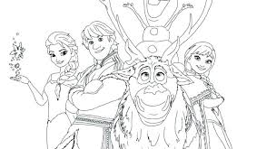 Elsa Coloring Pages Coloring Games Movie
