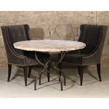 lovely dining room furniture sled legs high top slab round marble table square victorian stainless steel