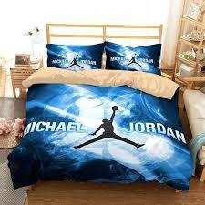jordan twin size bed set customize bedding duvet cover bedroom
