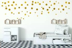 gold dot wall stickers image 0 rose polka