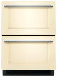 kitchenaid panel ready refrigerator stom drawers