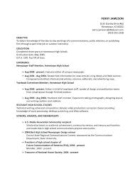 8 9 Resumes Examples For High School Graduates Nhprimarysource Com