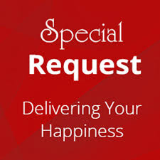 Special Request Form