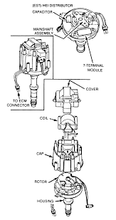gm hei distributor parts diagram gm image wiring hei wiring diagram hei image wiring diagram on gm hei distributor parts diagram