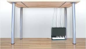 office desk cable management. Cable Management Desk Plug Hub Simplifies Under Power Office Solutions W