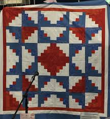 Pride of the Prairie Quilt Guild – Catherine Redford & a patriotic quilt top, img_1363 Adamdwight.com