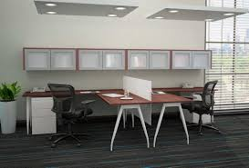 t shaped office desk. Modern T Shaped Home Office Desk For Two People