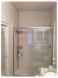 replace framed with frameless shower doors