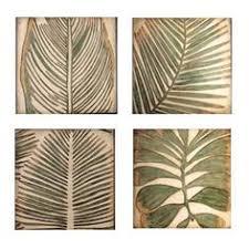 wall art plaque x palm wall art  x  wood palm leaf set of  kokoware plaque wall decor home de