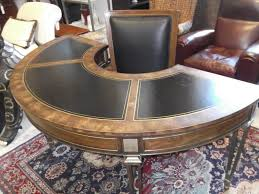 vintage mastercraft half moon desk perfect condition yelp within inspirations 0