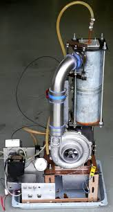 diy micro gas turbine engine