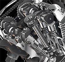 harley davidson vrsc v rod buyers guide dohc 4 valves per cylinder liquid cooled 1250cc v road engine