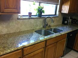 Granite With Backsplash Impressive Backsplash With Granite Countertops Tile On A Degree Angle