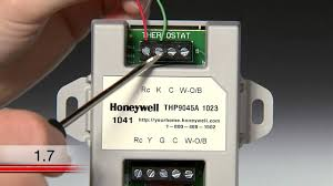 honeywell add a wire kit wire center \u2022 Two Wire Photocell for Outdoors wire saver video youtube rh youtube com honeywell boiler aquastat wiring diagram honeywell zone valve wiring diagram