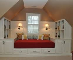 Attic Bedroom Design Ideas Classy Attic Space Well Used By Country Living A Great Idea For Some R R