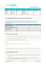 Simple Project Planning Template Basic Project With Resource Management Online Project