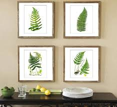 antique fern botanical print set of 4 summer garden decor wall hanging wall art decor green on green wall art decor with 59 best prints images on pinterest art prints popular art and
