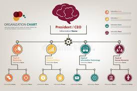 Modern Org Chart Organization Chart Stock Illustrations 25 635 Organization