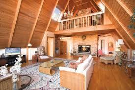 a frame house. Interior ...