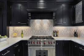 Modern Kitchen Wallpaper Modern Kitchen Design Red Glossy Cabinets Black White Pattern