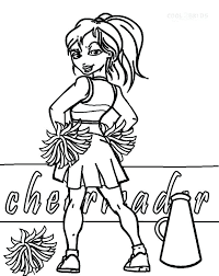 Small Picture astonishing Excellent Cheerleading Coloring Pages Print Printable
